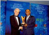 "ORYX GTL Receives ""World Quality Commitment Award"""