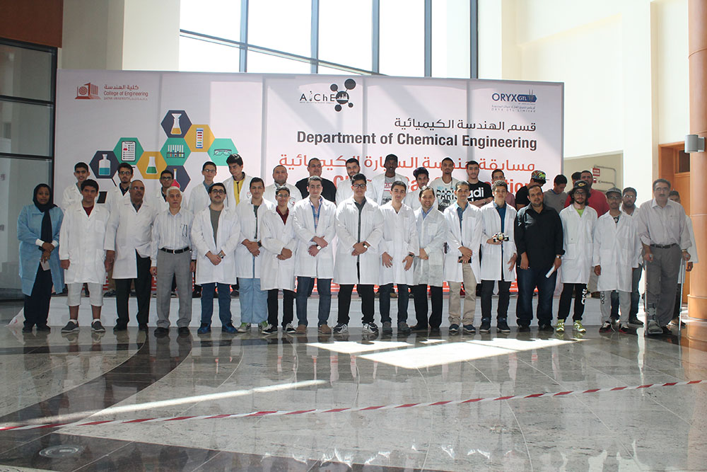 QU CENG announces winners of its ChemE Car Competition